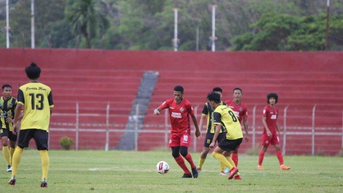 Hasil Laga Uji Coba Semen Padang FC Vs PSP Padang, Irsyad Maulana Sumbang 2 Gol