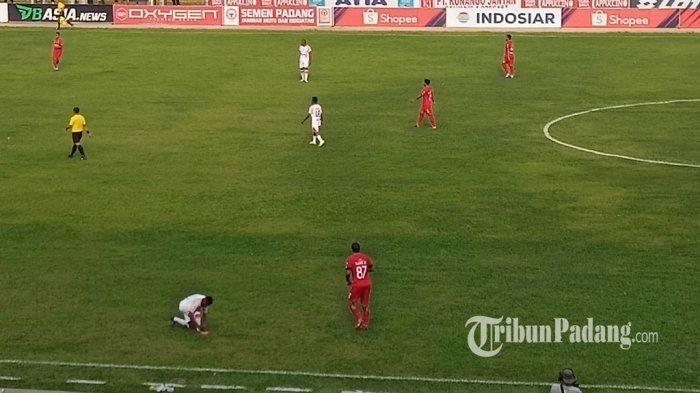 Semen Padang FC Kalah Lagi di Kandang, Persipura Pulang Bawa Tiga Poin