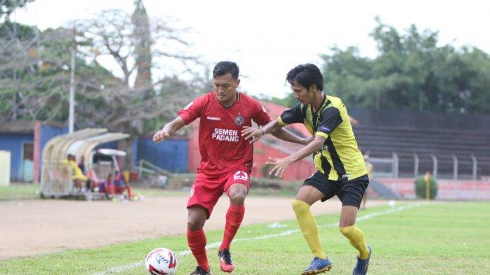 Semen Padang FC menangkan laga uji coba dengan skor 3-2 lawan PSP Padang, Rabu (30/9/2020).