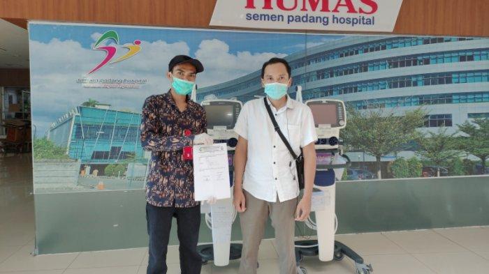 SPH Pinjamkan 2 Ventilator untuk Penanganan Pasien Berat Covid-19 kepada RSUP M Djamil Padang