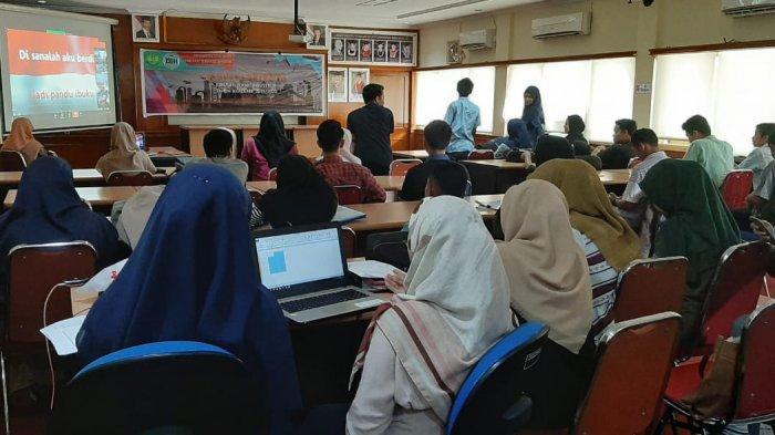 Mahasiswa TRKJ FTI Universitas Bung Hatta Ikuti Seminar Nasional Secara Online