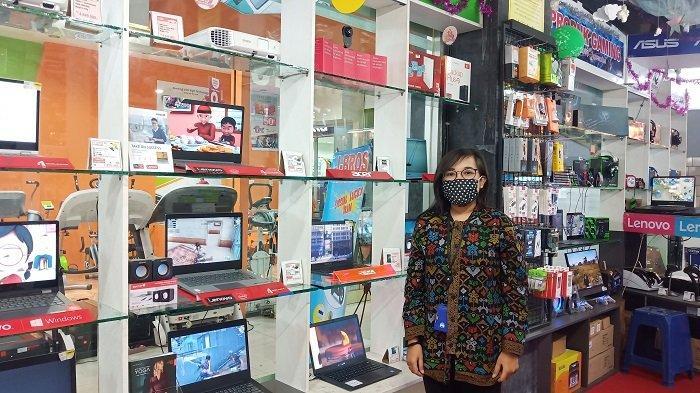Penjualan Laptop Sempat Meningkat, Kini di Plaza Andalas Padang Kembali Sepi Pembeli