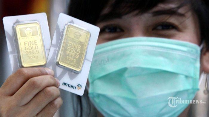 Harga Emas di Padang Hari Ini Rabu 17 Februari 2021, Emas Antam Turun dan Emas UBS Turun