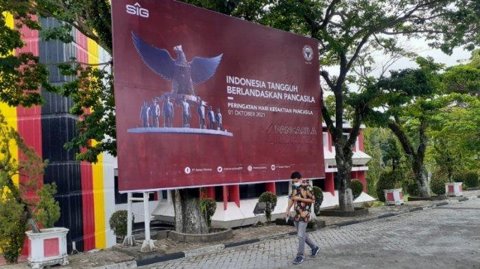 Peringati Hari Kesaktian Pancasila, PT Semen Padang Ajak Karyawan Kibarkan Bendera