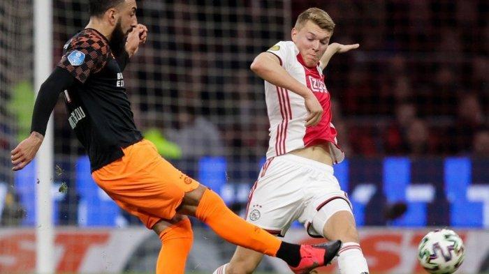 Siapa Perr Schuurs Pemain Ajax Amsterdam yang Dilirik AC Milan? Disebut The Next Matthijs De Ligt