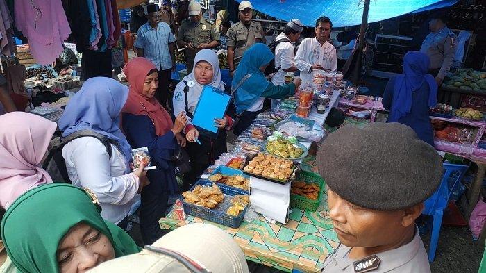 Tim BPOM dan Polres Padang Pariaman belum Temukan Makanan yang Bahannya Berbahaya