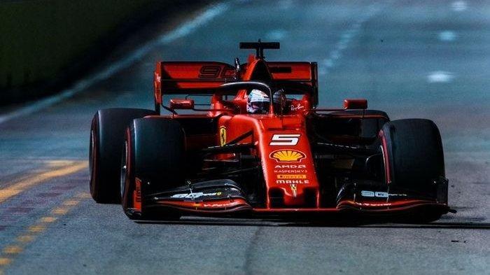 Pembalap Ferrari Sebastian Vettel Menang, Charles Leclerc Kesal Dianaktirikan