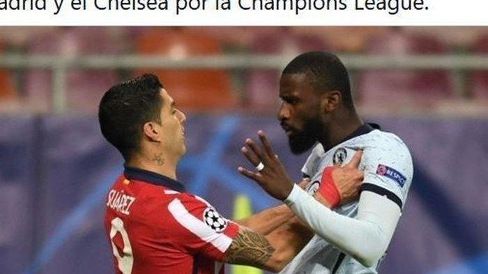 LINE-UP Chelsea vs Real Madrid - Bek Antonio Ruediger Bakal Bertopeng, Cedera di Markas Los Blancos