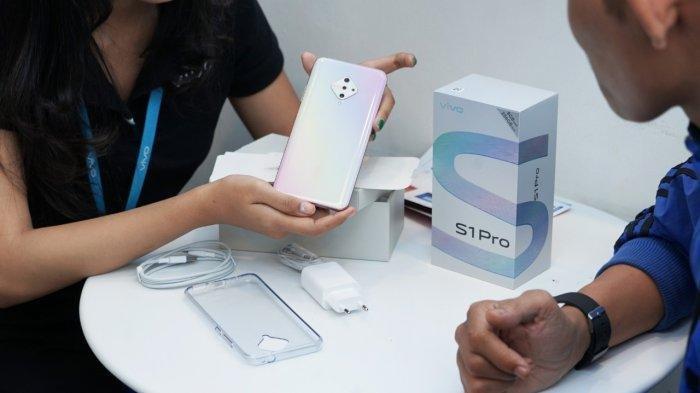 Simak Daftar Harga Terbaru Smartphone Vivo, Serta Spesifikasi Lengkap Vivo S1 Pro Fancy Sky