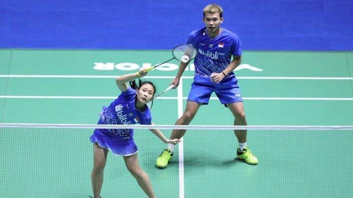 Rinov/Pitha Menang Straight Games atas Wakil Denmark, Wakil Indonesia Pertama yang Lolos