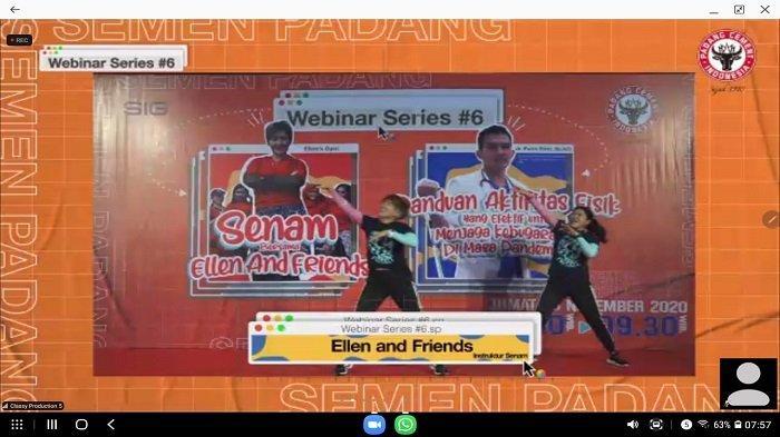 Webinar Semen Padang: Dokter Spesialis Olahraga SPH Bagikan Tips, Berolahraga di Masa Pandemi