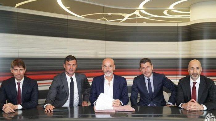AC Milan Tatap Musim 2020-2021, Stefano Pioli Sebut Target Berdasar Hasil Kompetisi Musim Lalu