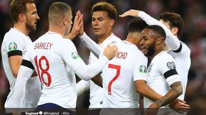 PREDIKSI Inggris vs Denmark Semifinal Euro Kamis, 8 Juli 2021 - Luke Shaw Kejar Rekor David Beckham