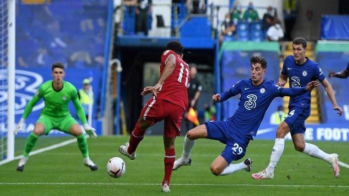 Link Live Streaming Mola TV Liverpool vs Chelsea, Jumat Dini Hari Pukul 03.15 WIB