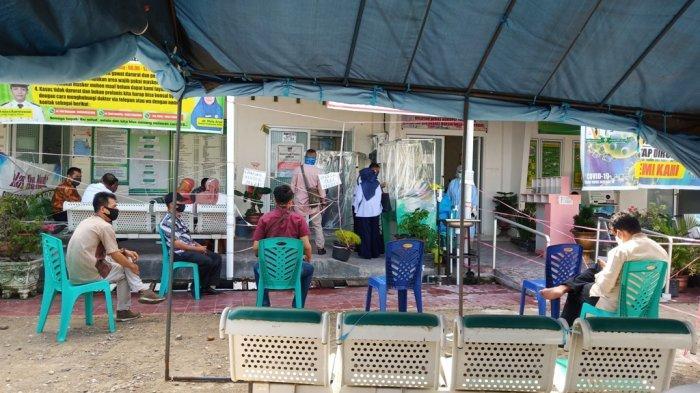 Hari Pertama Swab Tanggorokan Gratis di Pukesmas Andalas Diikuti 21 Orang, Targetkan 157 Orang