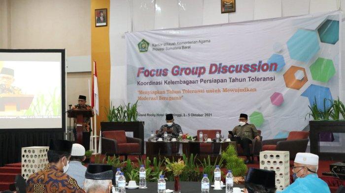 Ketua FKUB Duski Samad: Kerukunan Umat Beragama di Sumatera Barat Tidak Perlu Diragukan Lagi