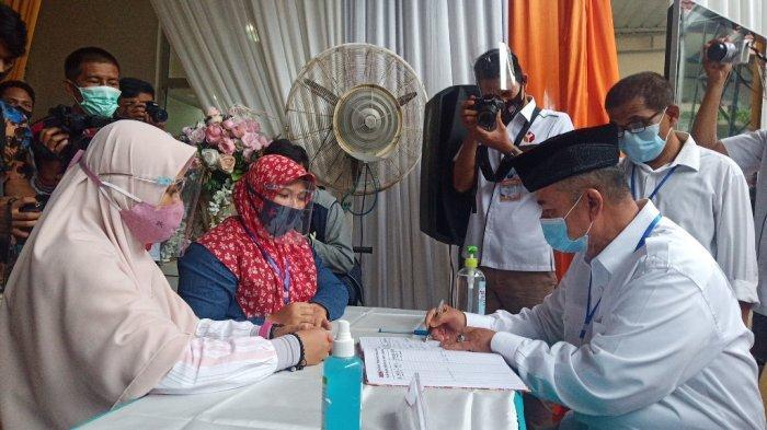 Mendadak, Nasrul Abit-Indra Catri Tiba di KPU Sumbar Sabtu Sore, Daftar di Hari Kedua