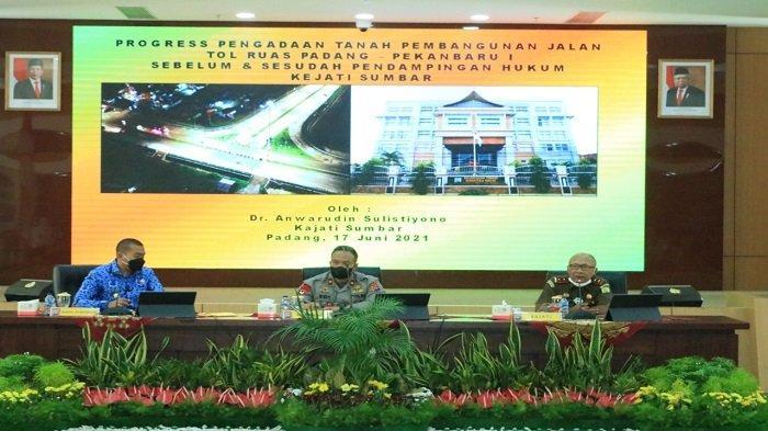 Update Jalan Tol Padang - Wakapolda Sumbar Tanggapi Saat Rakor:Harus Ada Timeline dan Dapat Diukur