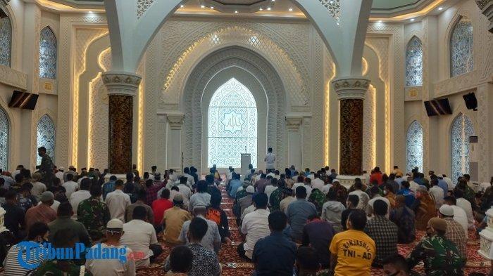 Masjid Al Hakim di Pantai Padang akan Diresmikan Presiden Jokowi pada November 2020