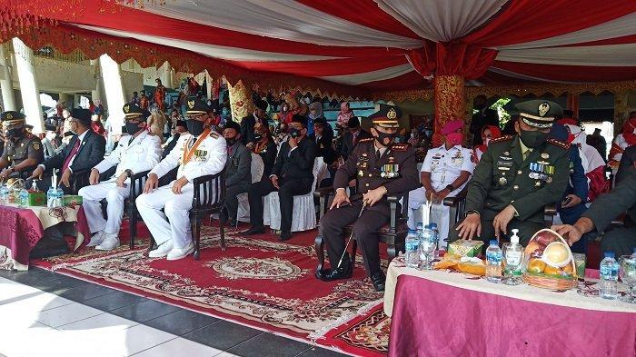 Pemko Padang Gelar Upacara Hari Kemerdekaan RI ke-75 di RTH Imam Bonjol, Terapkan Protokol Covid-19
