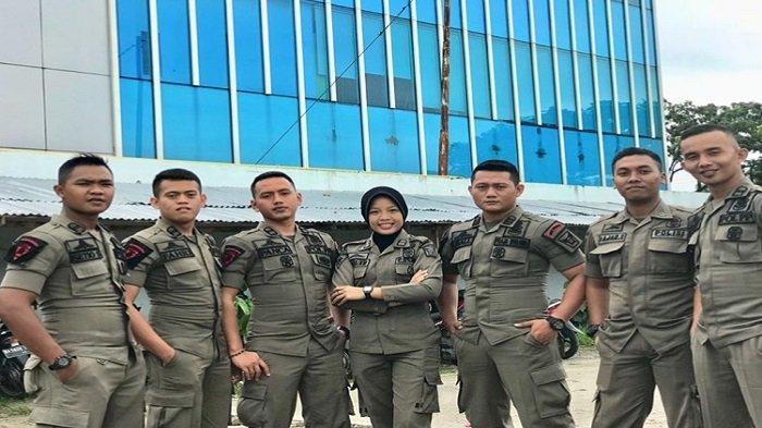 Suci Kurnia Dewi Anggota Satpol PP Kota Padang, Atlet Kempo Peraih Medali Emas Porprov Sumbar