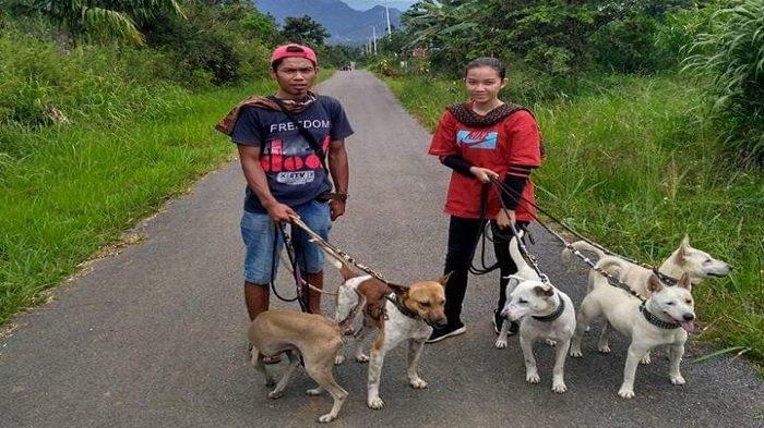 GADIS di Lima Puluh Kota Punya Hobi Berburu Babi, Ikut Kegemaran Ayah dan Kakak Lelaki