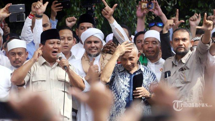 Prabowo Berpesan Supaya Gunakan Koridor Hukum untuk Ungkap Kecurangan