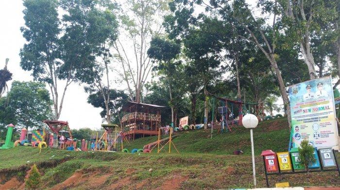Pesona Taman Bukik Gadang di Sijunjung, Alternatif Wisata Alam di Pusat Kota, Cocok untuk Anak-anak