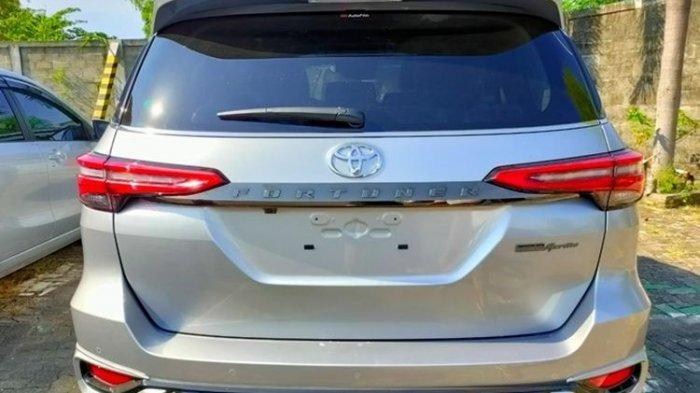 Tampilan baru Toyota Fortuner facelift