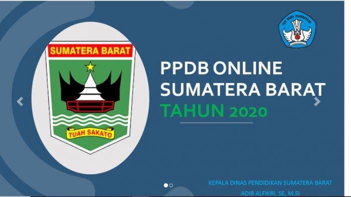 Hasil PPDB Online SMA/SMK Sumbar, Cekppdbsumbar.id, Disdik: Itu Nanti, Perlu Verifikasi Lagi