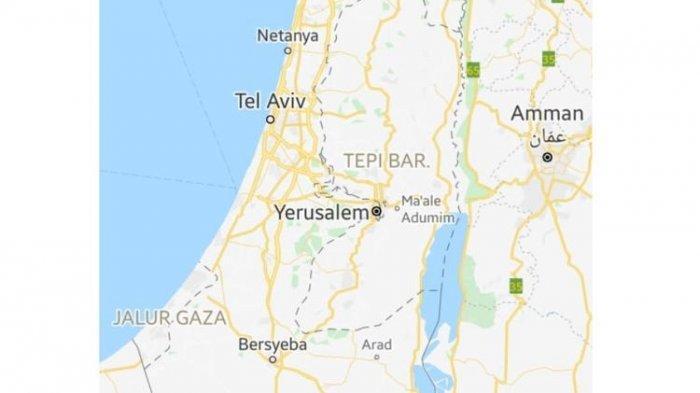 Google dan Apple Tidak Pernah Memberikan Label Palestina Pada Peta Online