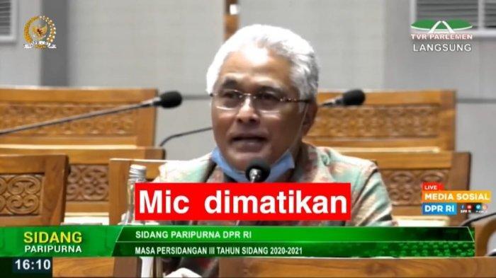 Mic Anggota DPR Asal Sumbar Tiba-tiba Mati Saat Protes SKB 3 Menteri, Guspardi Gaus: Belum 5 Menit