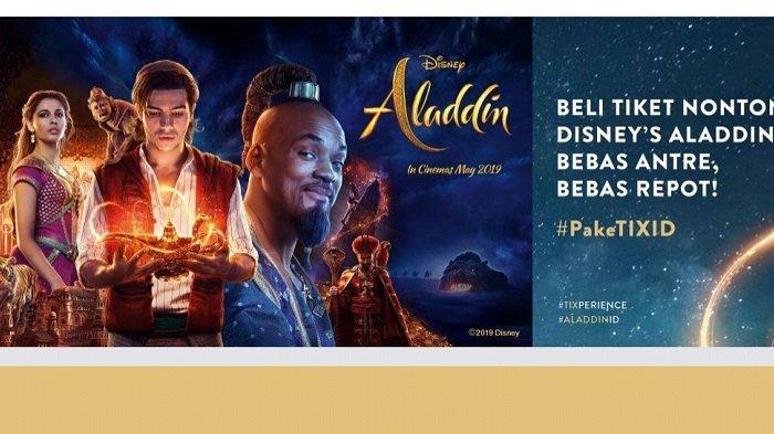 Tiket Nonton Disney's Aladdin Dijual Mulai Sabtu, Tayang Perdana 22 Mei 2019