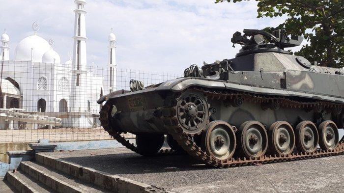 Tank Bekas Operasi Trikora di Pantai Padang Jadi Objek Wisata Baru,Bukan Sebatas Objek Swafoto