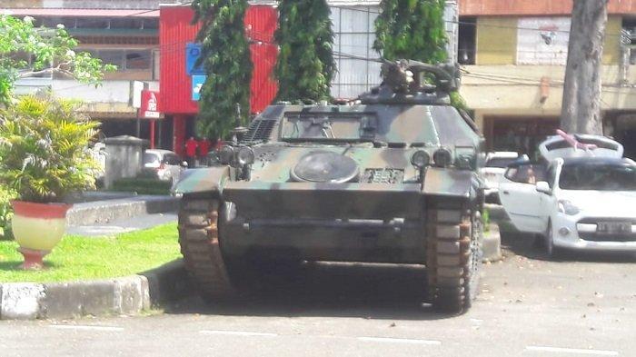 Terancam Abrasi Pantai, Tank Bersejarah di Pantai Muaro Padang Dipindahkan ke RTH Imam Bonjol