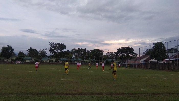 PSP Padang Pesta Gol saat Laga Uji Coba, Ungguli Remaja Tarusan FC asal Pesisir Selatan Skor 5-0
