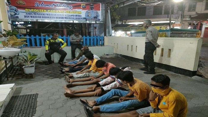 Polsek Amankan 13 Remaja Diduga Bakal Tawuran, Polisi Datangkan Ustaz untuk Bertausiyah