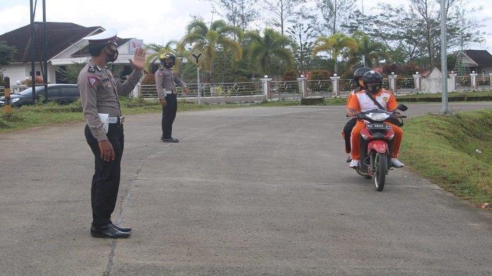 Hari ke-2, Polres Kepulauan Mentawai Sasar 4 Pelanggaran, Berkaitan Penanganan Covid-19