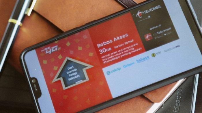 Telkomsel Sediakan Kuota Akses Bebas E-Learning, Berikut Link Aplikasi Gratis Belajar di Rumah