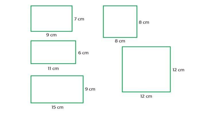 JAWABAN Tema 4 Kelas 4 Halaman 41 dan 42: Menghitung Luas dan Keliling Persegi Panjang