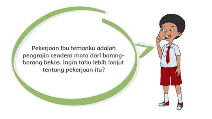 Kunci Jawaban Tema 4 Kelas 4 Halaman 29 31 33 36, Siapa Saja Tokoh pada Cerita di Atas?