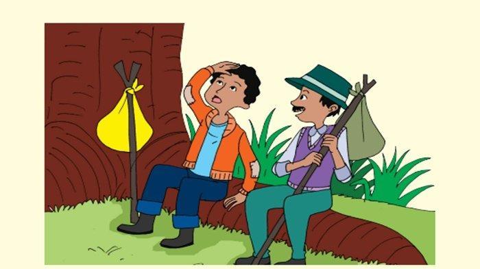 Ayah Edo sedang Menebang Pohon yang Sudah Tua, Menurutmu yang Harus Dilakukan Edo adalah . . .