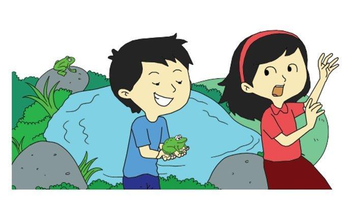 Tangan Lani Tertusuk Duri Bunga Mawar, Menurutmu yang Harus Dilakukan Teman-teman Lani adalah. . . .