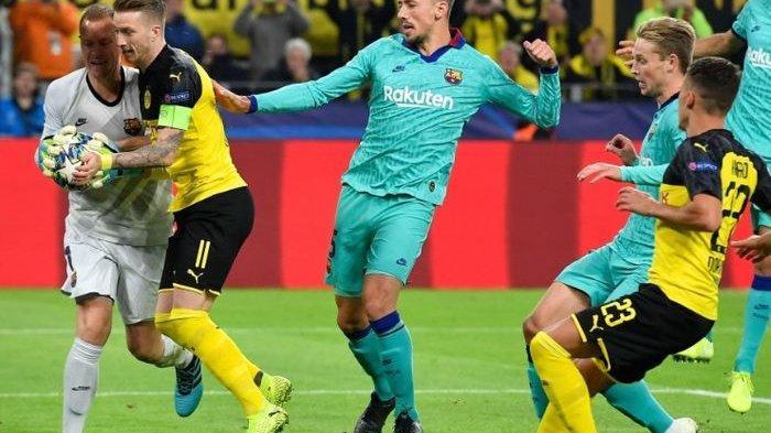 PREDIKSI STARTING XI - Barcelona Vs Inter Milan, Posisi Marc-Andre ter Stegen tak Tergoyahkan