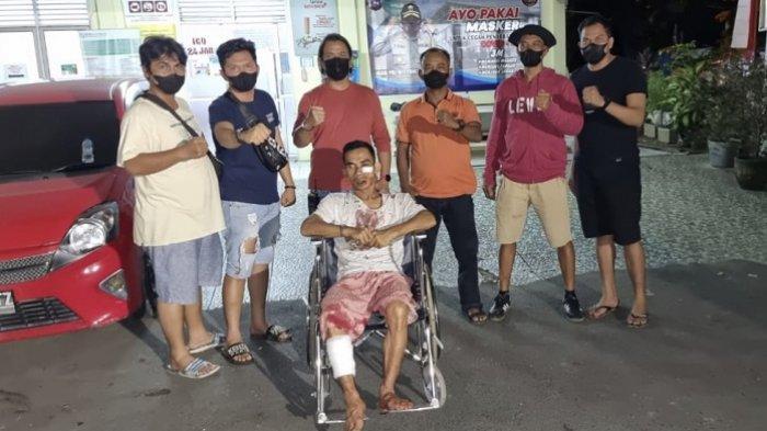 BREAKING NEWS: Pelaku Penusukan di Lubuk Kilangan Padang Ditangkap, Korban Tewas Bersimbah Darah