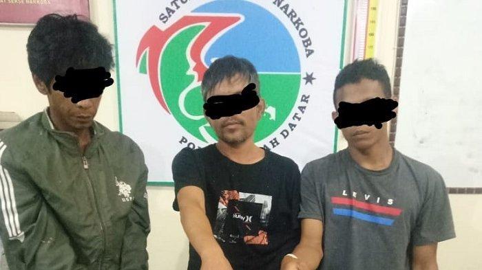 Kedapatan Nyabu di Meja Makan, Ganja Ditemukan di Saku, 3 Pemuda Tanah Datar Diringkus Polisi