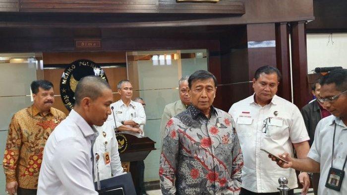 Wiranto Kumpulkan Anggota Tim Asistensi Hukum Polhukam, Bahas Tentang Hal Ini