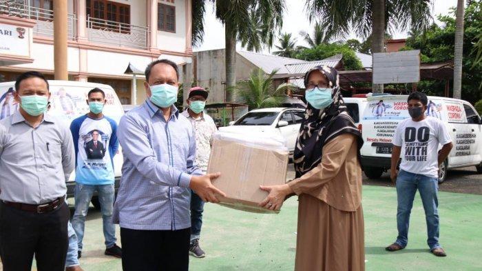 Bantuan Mulyadi Sentuh Warga dan Tenaga Medis Perbatasan Sumbar