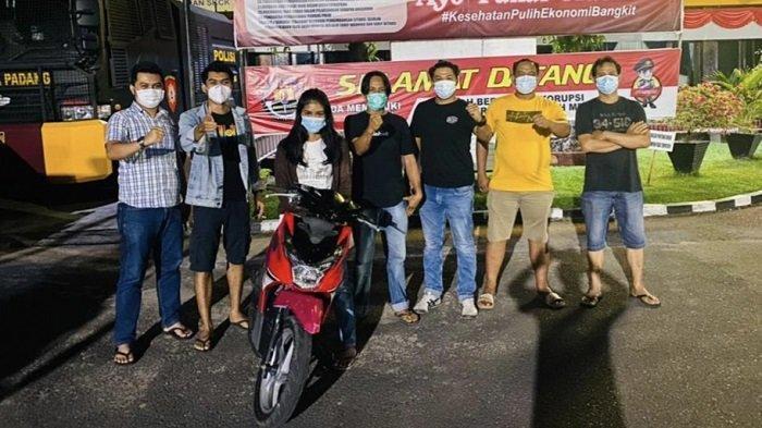 Polisi Amankan IRT di Padang Diduga Melakukan Tindak Pidana Pencurian Sepeda Motor