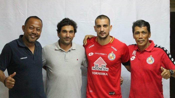Semen Padang FC DatangkanFlavio Beck Junior, Pemain Brasil yang Pernah Merumput diBhayangkara FC